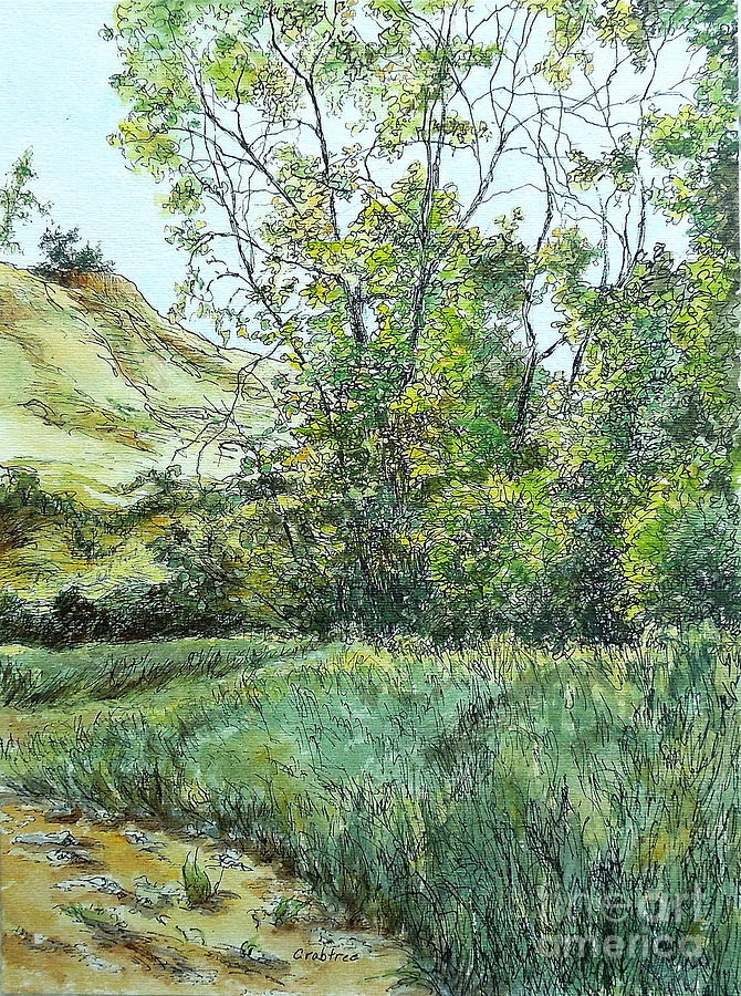 Summer Day Painting - Summer Day by Elizabeth Crabtree