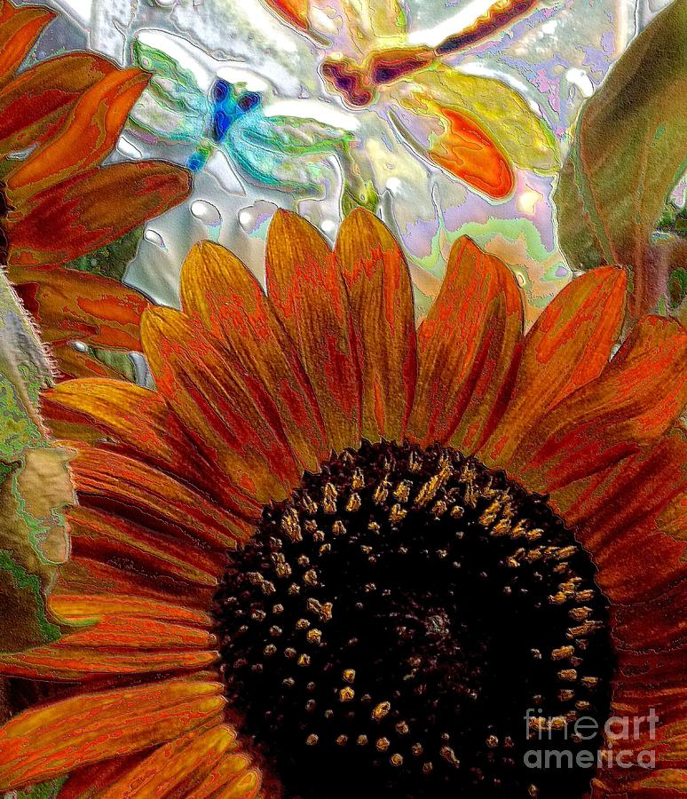 Sunflower Photograph - Summer Days by Annette Allman