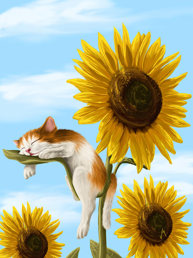 Ipad Painting - Summer Dream by Veronica Minozzi
