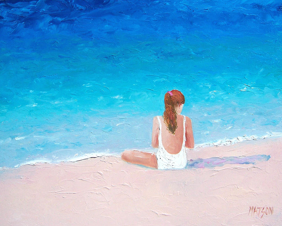 Beach Painting - Summer Dreams by Jan Matson