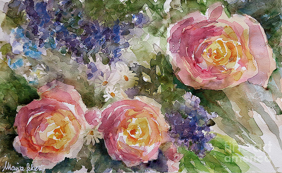 Landscapes Painting - Summer Dreams by Marisa Gabetta