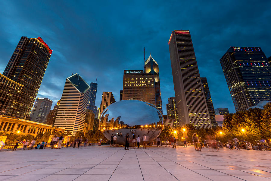 Summer Evening at Cloud Gate by James Howe