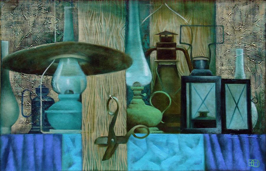 Still Life Painting - Summer Evening by Nadia Egorova