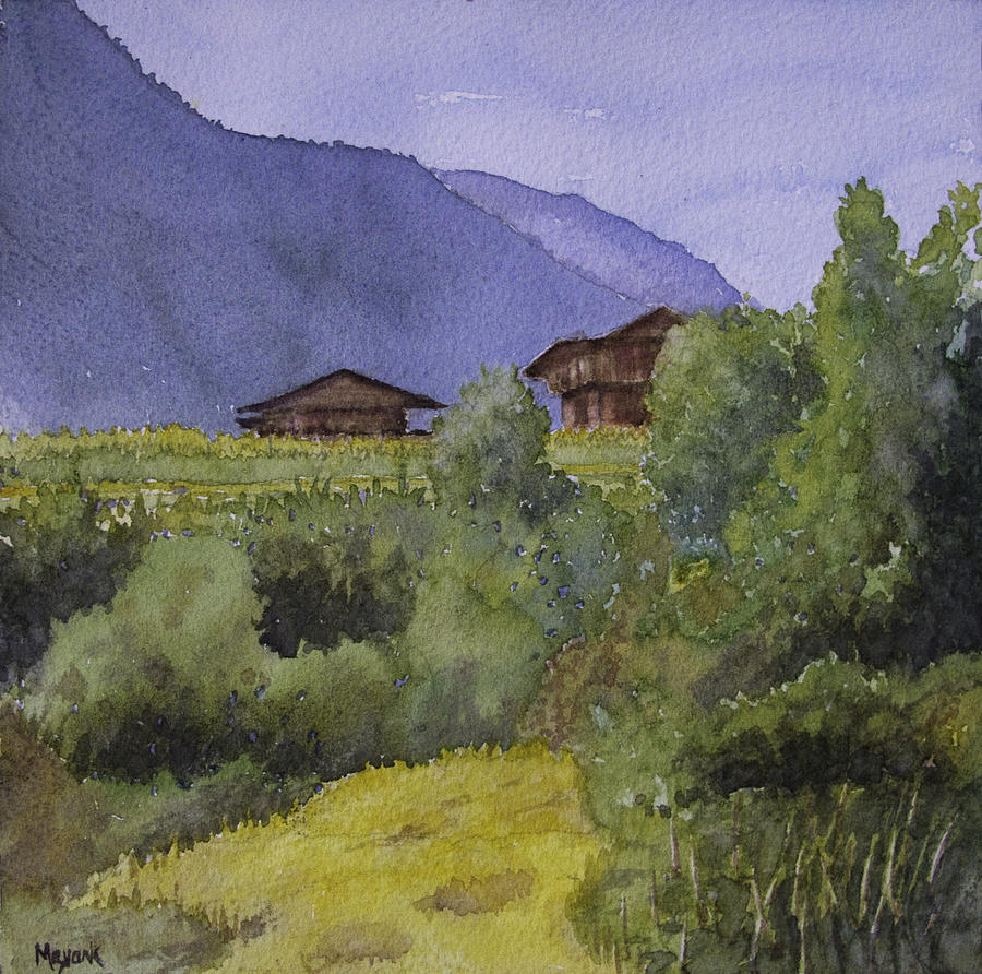 Summer Fields at Kais by Mayank M M Reid