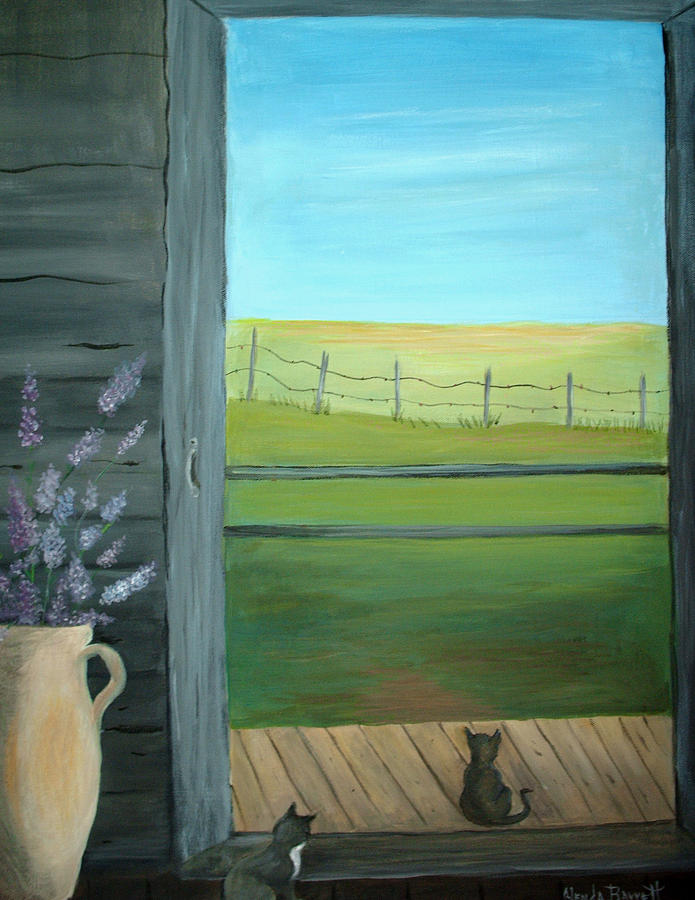 Original Painting - Summer by Glenda Barrett