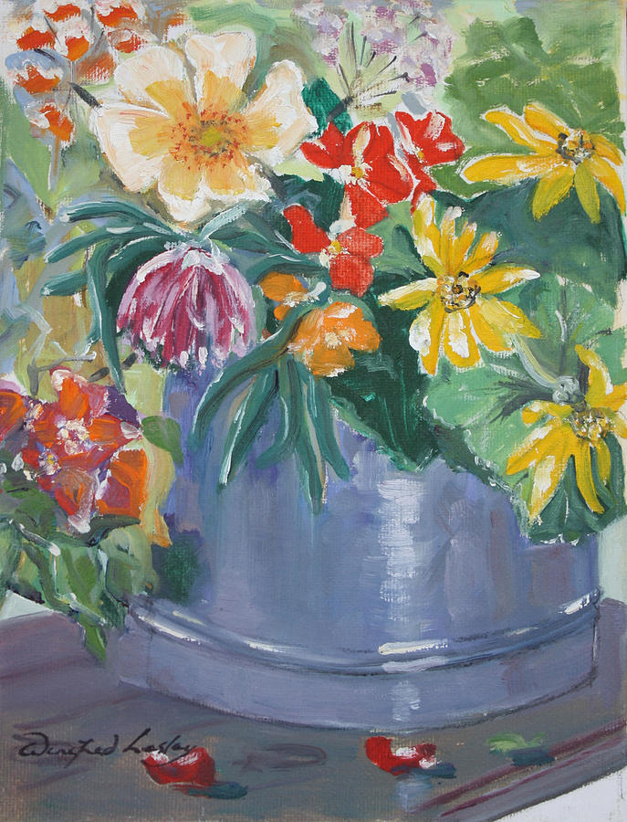Summer Glow Painting by Winifred Lesley