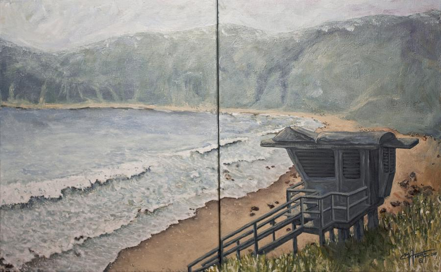 C Paintings Painting - Summer Haze by C Michael French