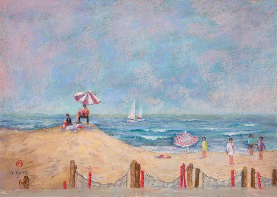 Seascape Pastel - Summer Haze by Nancy Yang