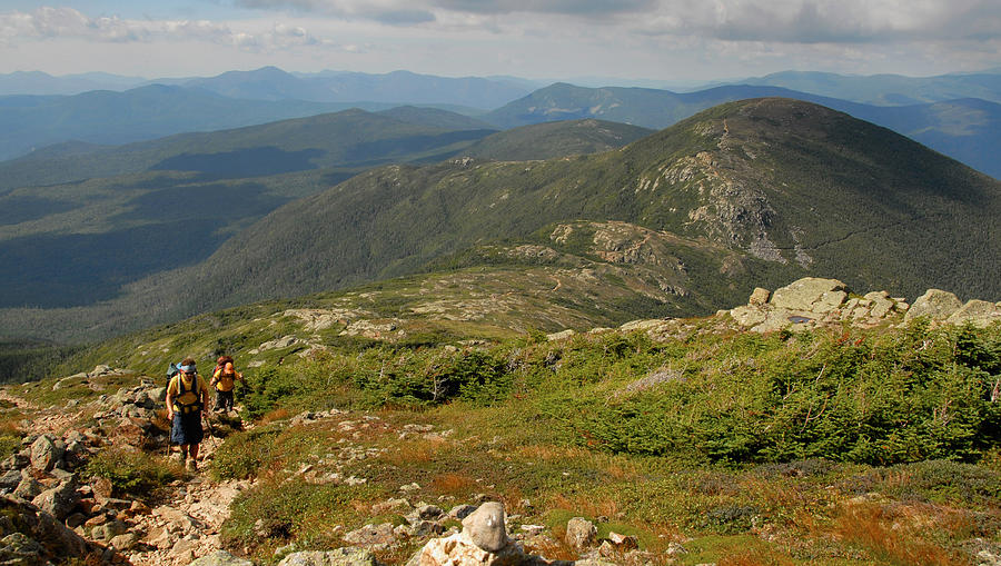 White Mountains Photograph - Summer Hike On The Crawford Path by Ken Stampfer