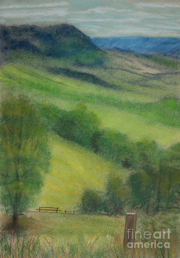 Country Painting - Summer In England by Ewa Hearfield