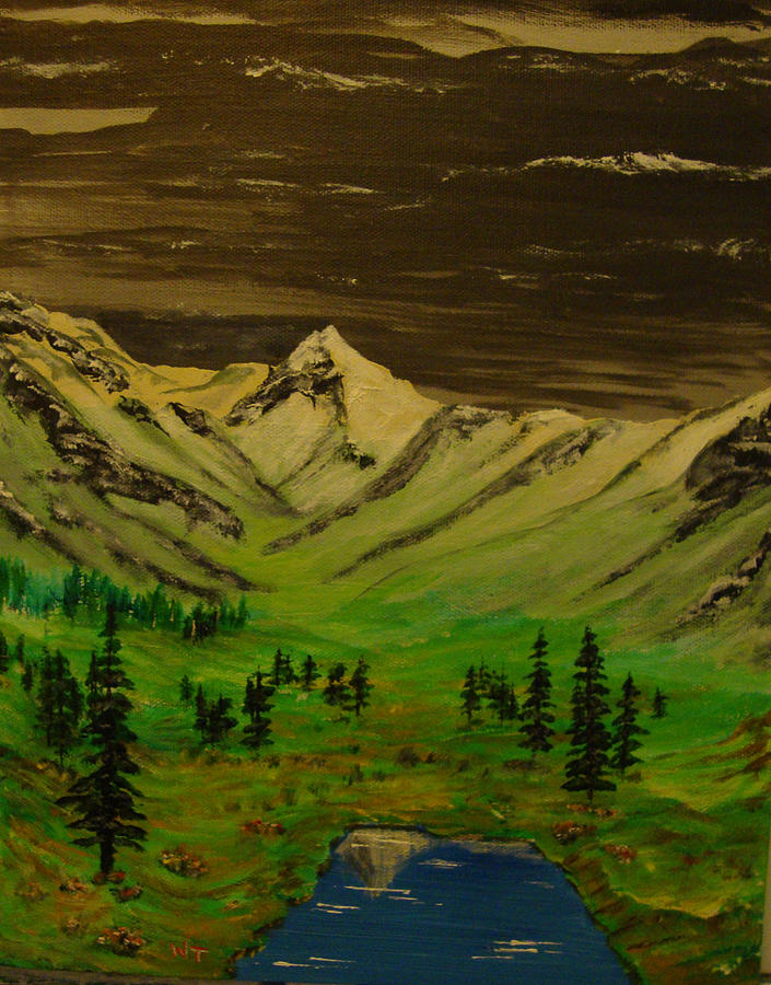 Summer Photograph - Summer In The Mountains by Iam Wayne