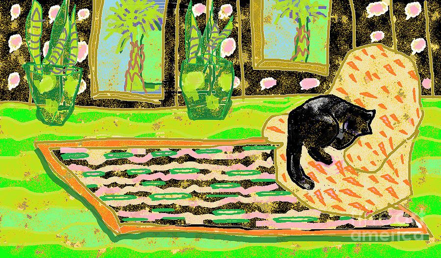 Room Digital Art - Summer in the Tropics by Beebe  Barksdale-Bruner