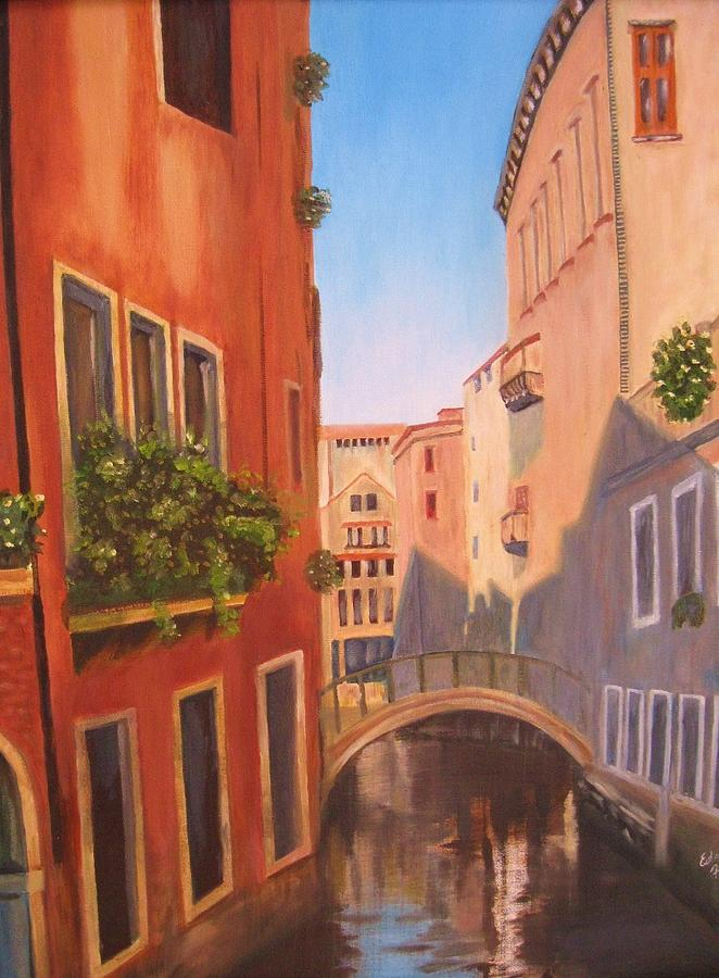 Summer In Venice Painting by Edna Fenske