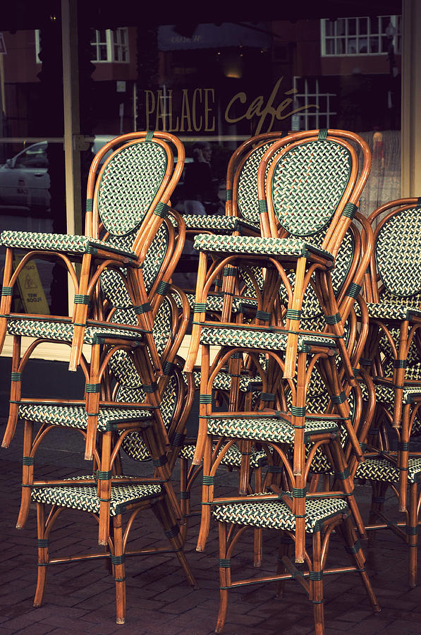 Chairs Photograph - Summer Is At A Close by Kenneth Feliciano