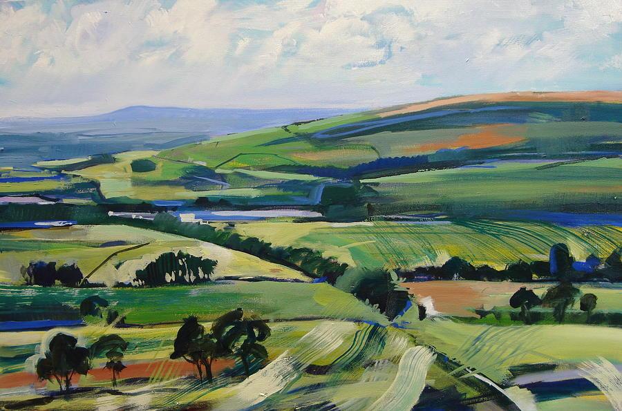 Lancashire Oil Lanscape Paintings