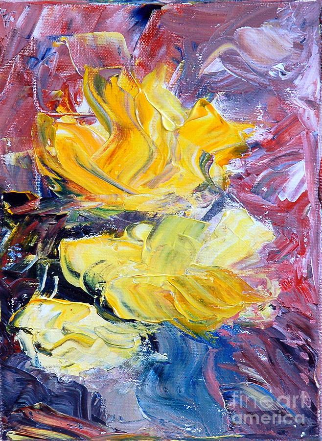 Flower Painting - Summer Love by Teresa Wegrzyn