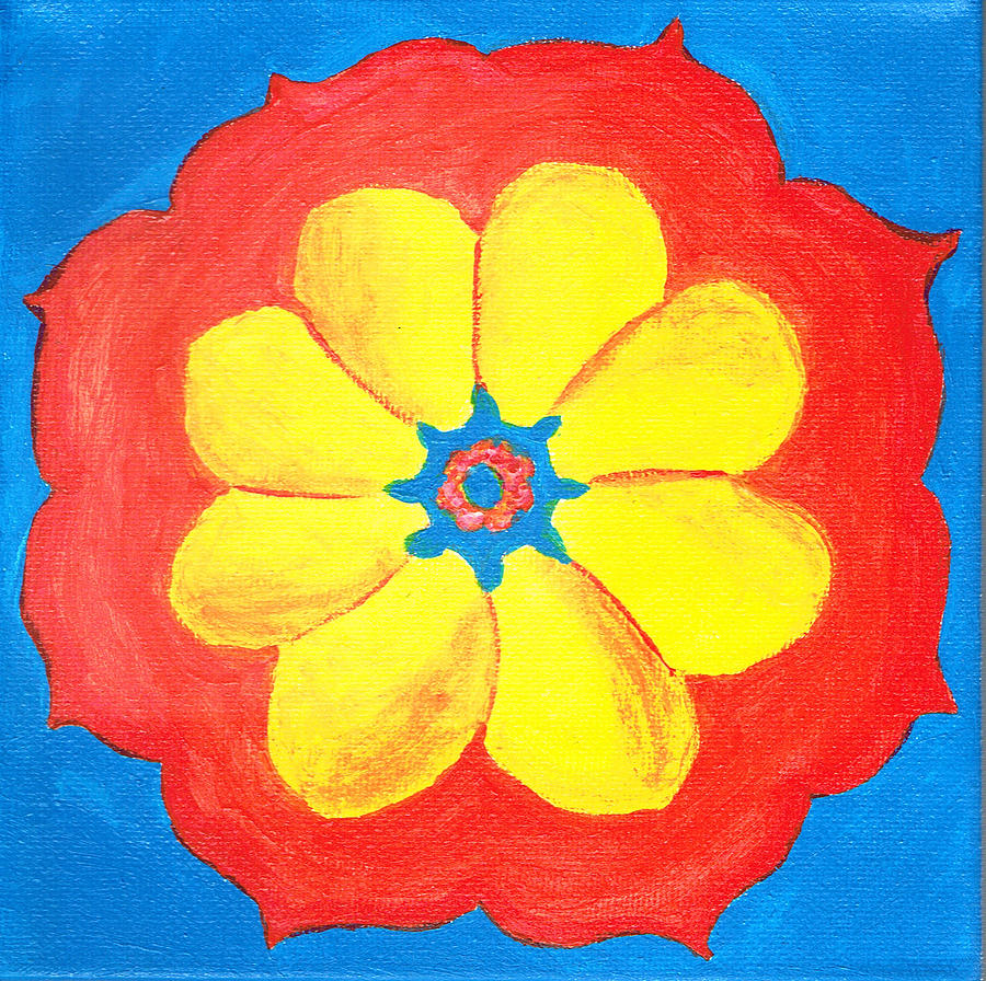 Summer Mandala by Beth  Cornell