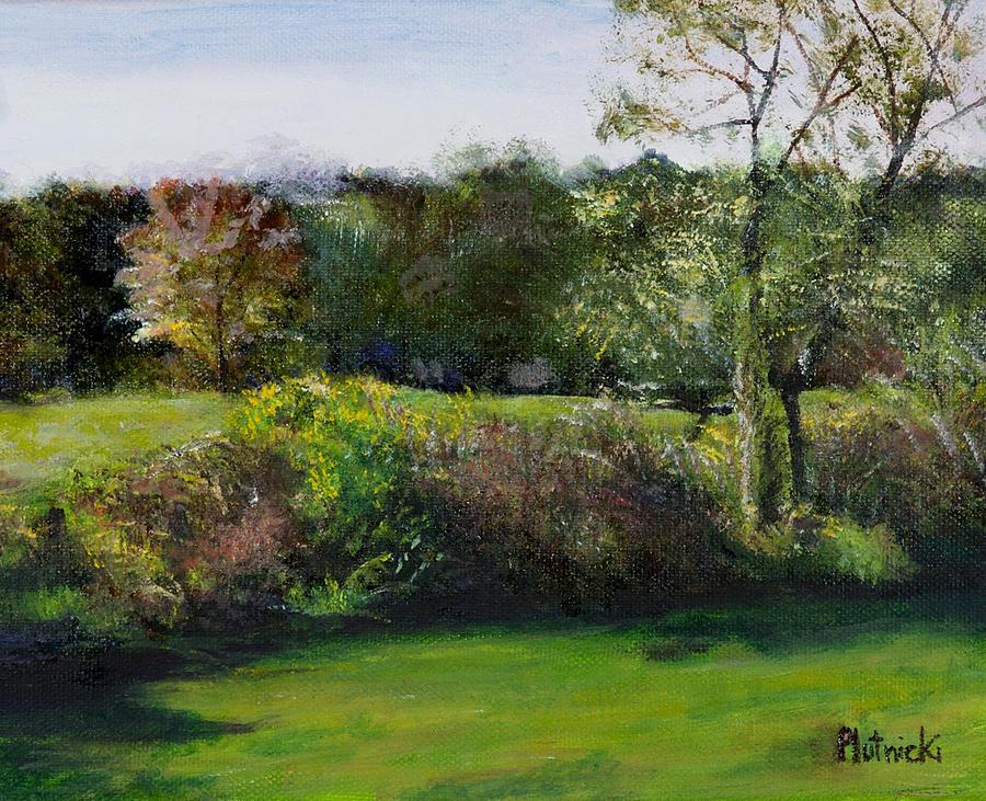 Massachusetts Pastel - Summer Meadow II by Cindy Plutnicki