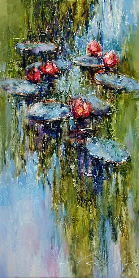 Artwork Painting - Summer Mood by Andras Manajlo