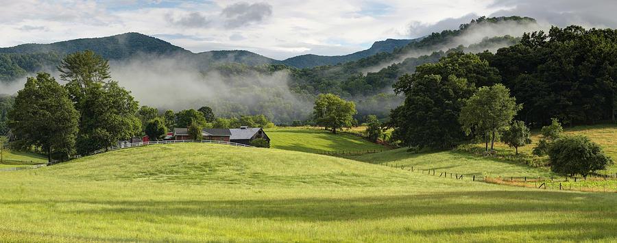 Bakersville Photograph - Summer Morning At Bakersville North Carolina by Keith Clontz