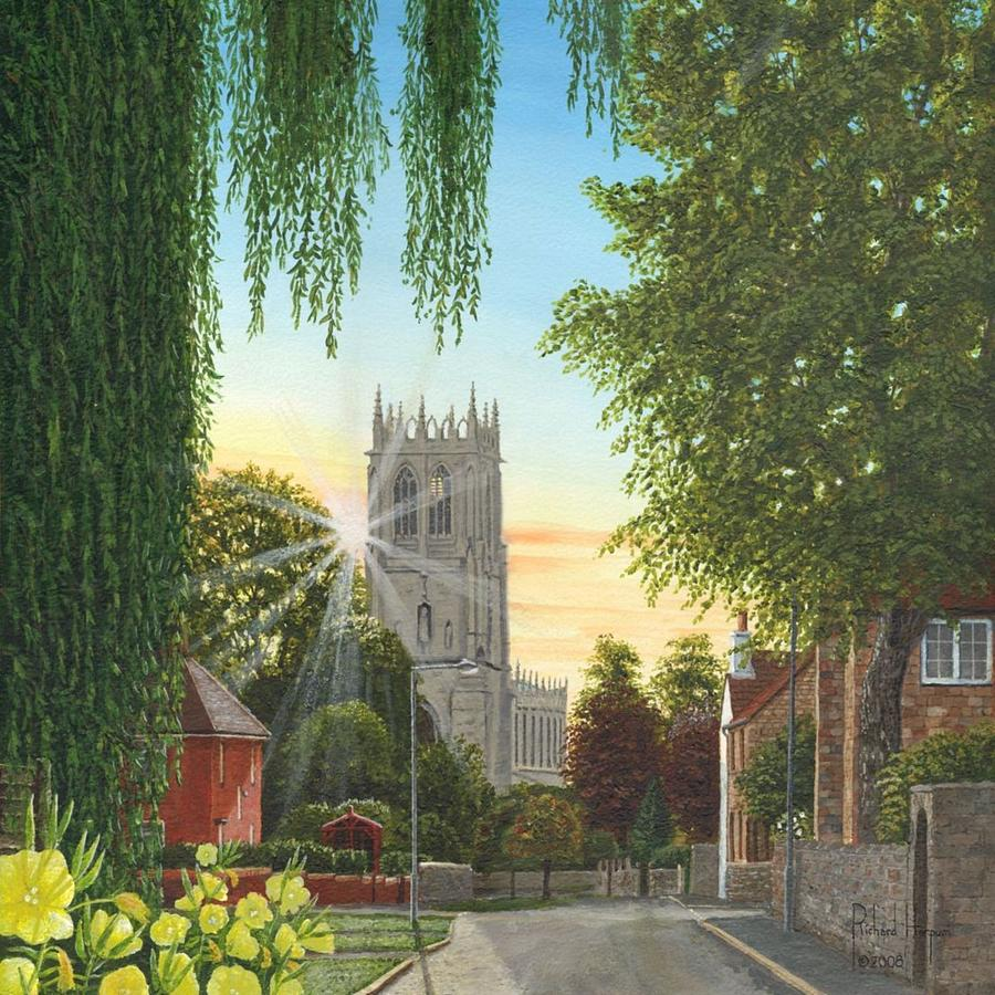 Summer Morning St. Mary Painting