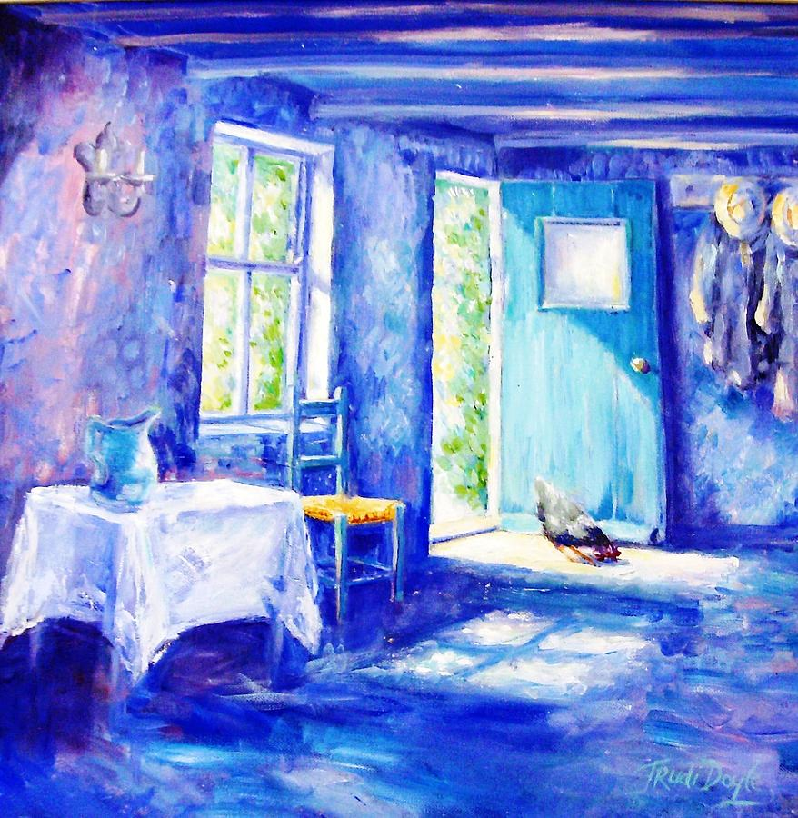 Summer Morning Painting - Summer Morning  by Trudi Doyle