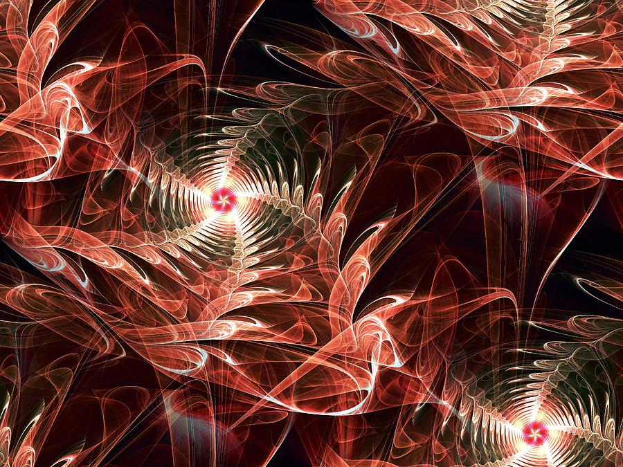 Computer Digital Art - Summer Night by Anastasiya Malakhova