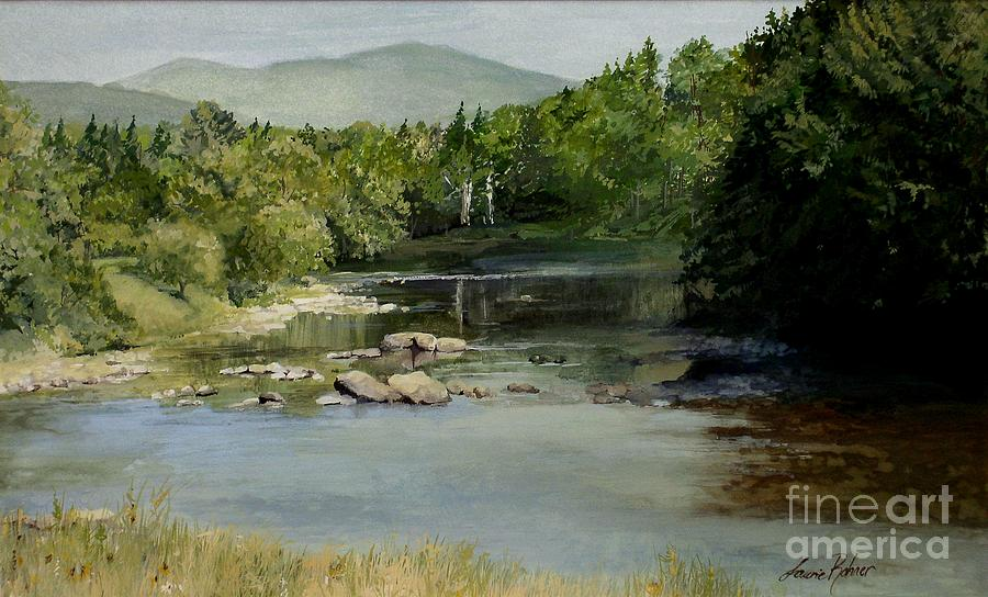 Summer on the River in Vermont by Laurie Rohner