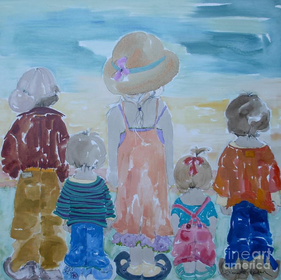Vicki Aisner Porter Painting - Summer Passes As Usual by Vicki Aisner Porter