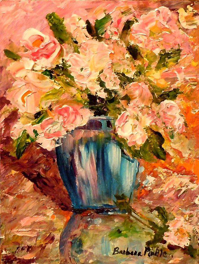 Still Life Painting - Summer Petals by Barbara Pirkle