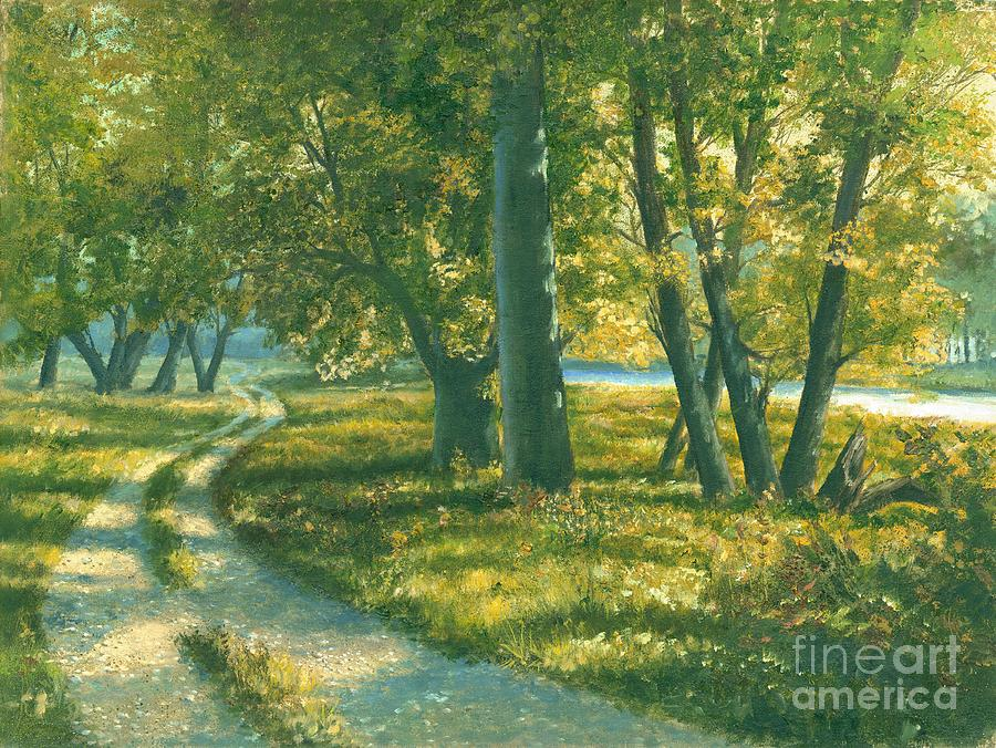 Grand River Painting - Summer Place by Michael Swanson