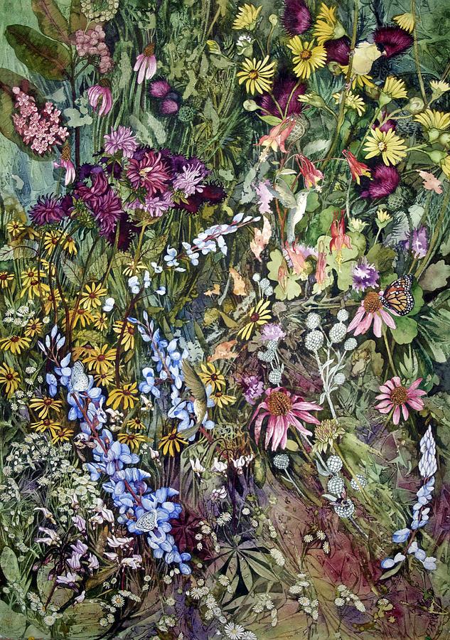 Flinch Painting - Summer Prairie I by Helen Klebesadel