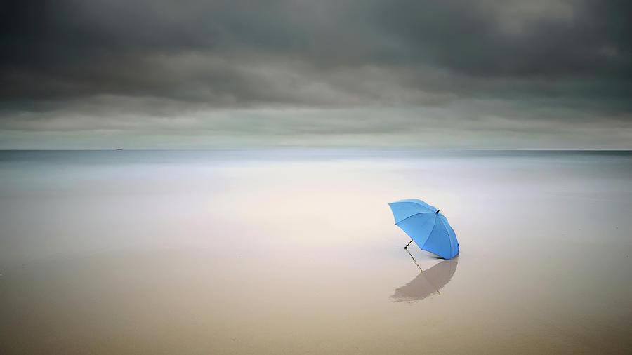 Landscape Photograph - Summer Rain by Paulo Dias