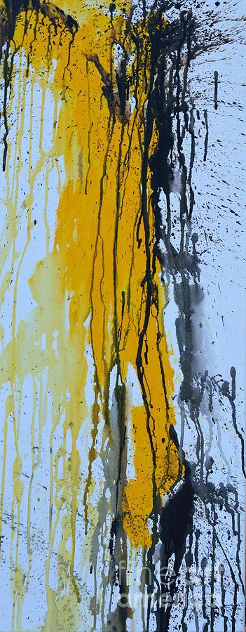 Summer Rain Painting - Summer Rein- Abstract by Ismeta Gruenwald