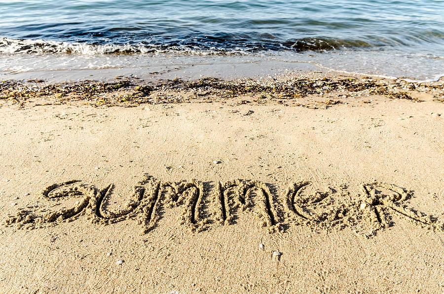 Background Photograph - Summer. by Slavica Koceva