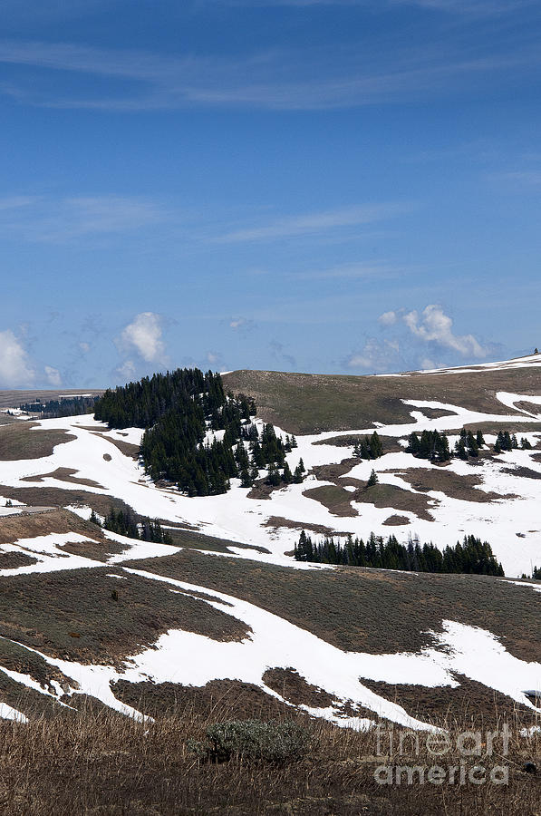 The Death Throes Of Winter In Wyoming Photograph