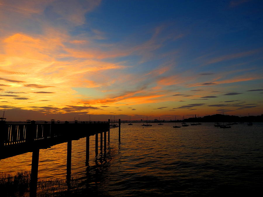 Sunset Photograph - Summer Sonata by Stephen Melcher