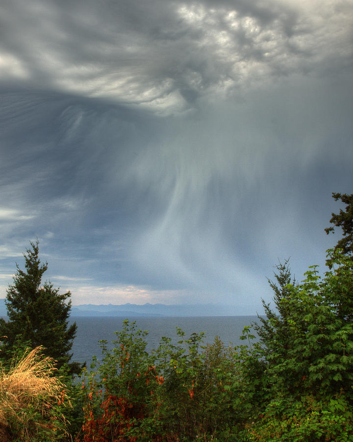 Landscape Photograph - Summer Squall by Randy Hall