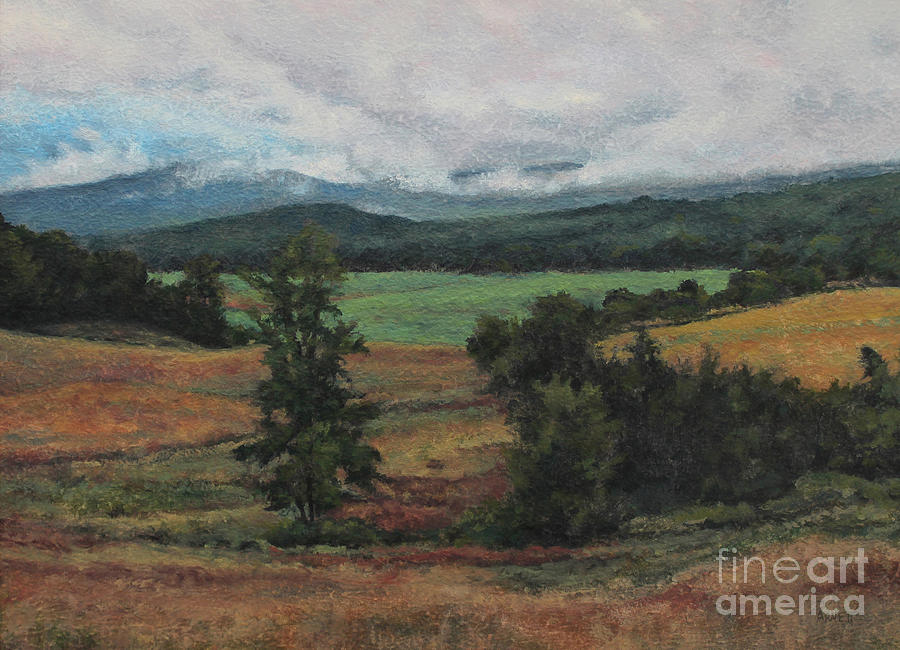 Summer Painting - Summer Storm by Gregory Arnett