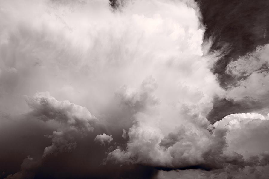 Storm Photograph - Summer Storm by Steve Gadomski