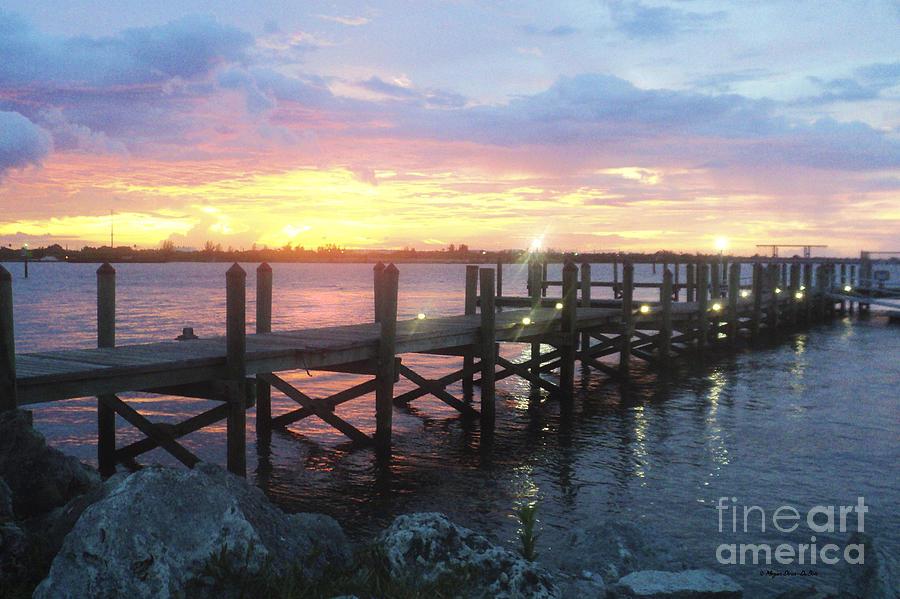 Clouds Photograph - Summer Sunset by Megan Dirsa-DuBois