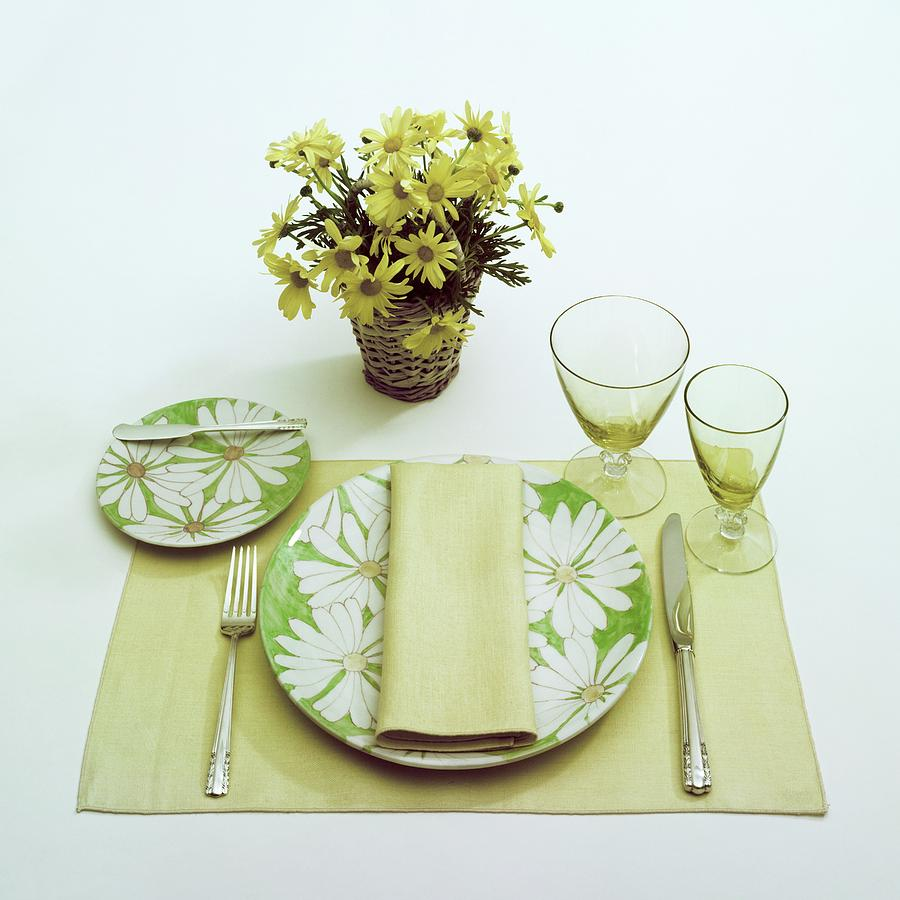 Summer Table Setting Photograph by Haanel Cassidy
