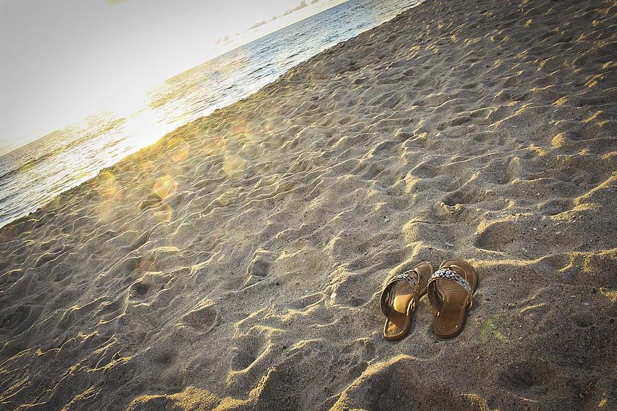 Tamarack Beach Photograph - Summers End by Ann Patterson