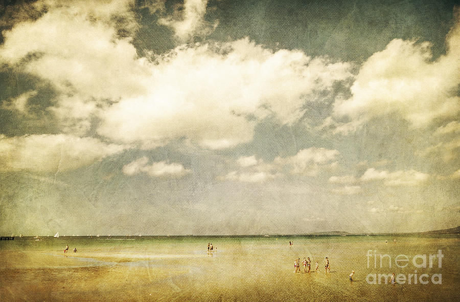 Beach Photograph - Summertide by Andrew Paranavitana