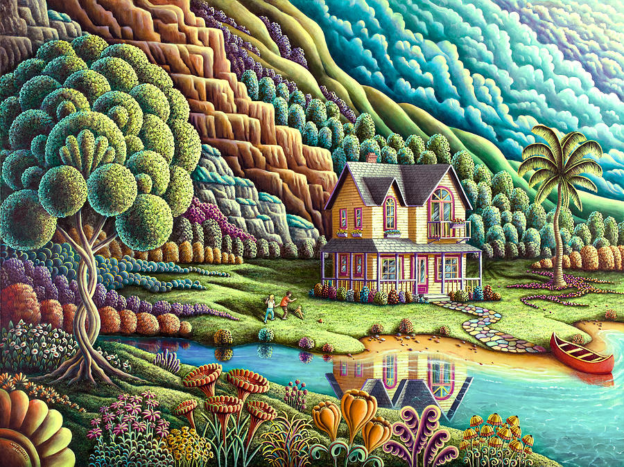 Summertime Painting By Mgl Meiklejohn Graphics Licensing