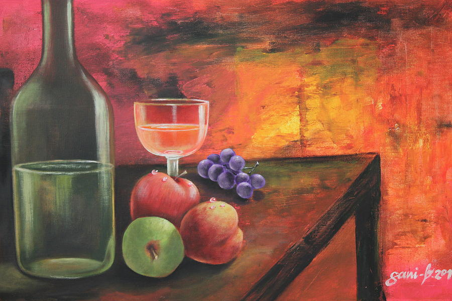 Still Life Painting - Summerwine by Gani Banacia