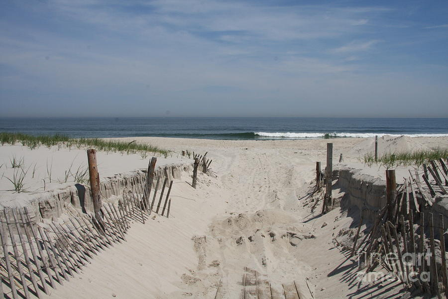 Beach Photograph - Sun And Sand by Christiane Schulze Art And Photography
