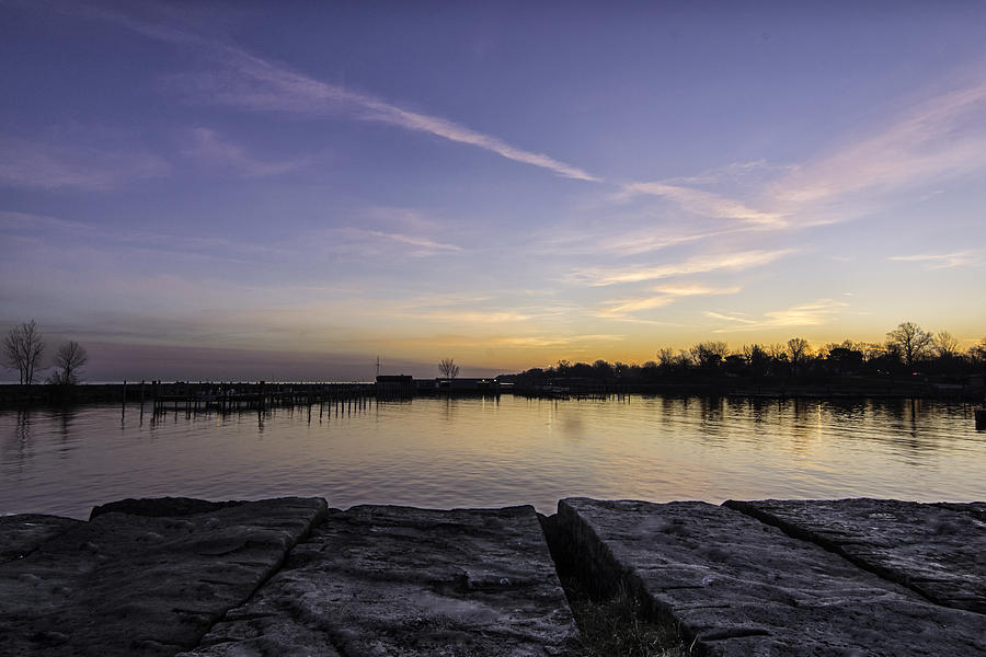 Pier Photograph - Sun At The Docks by Kris Rowlands