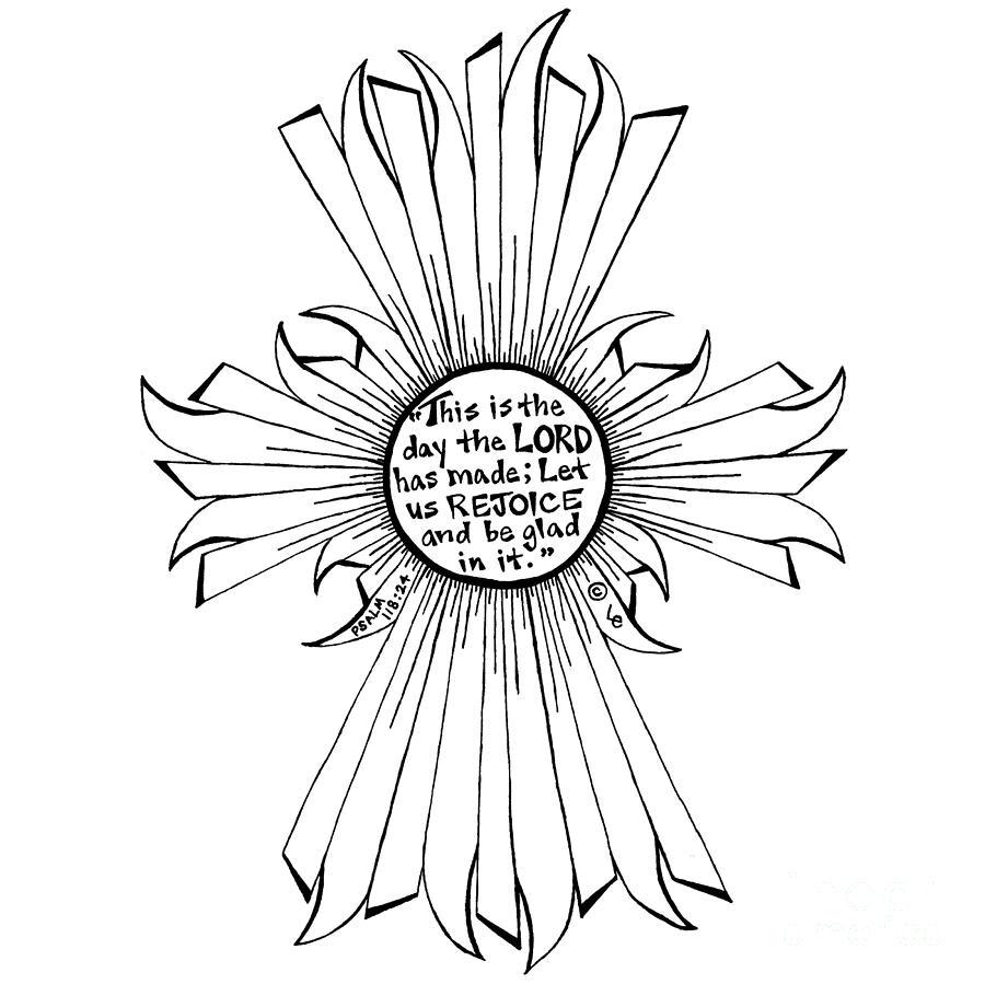 Sun Cross by Leigh Eldred