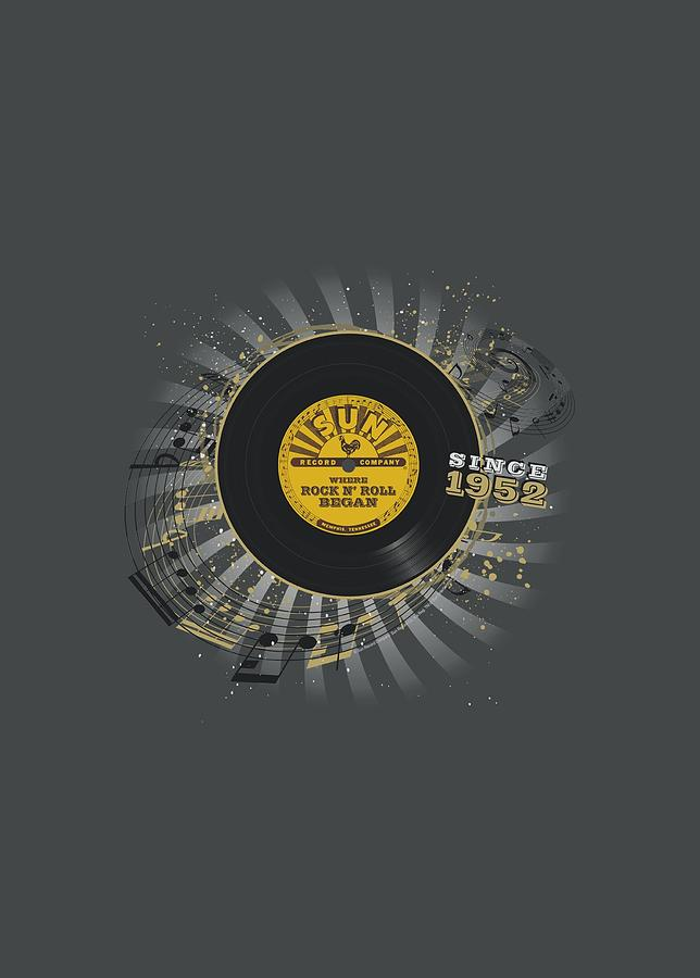 Sun Record Company Digital Art - Sun - Established by Brand A